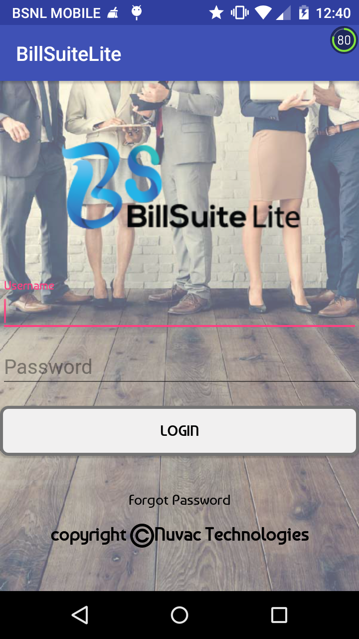 Ios billsuite